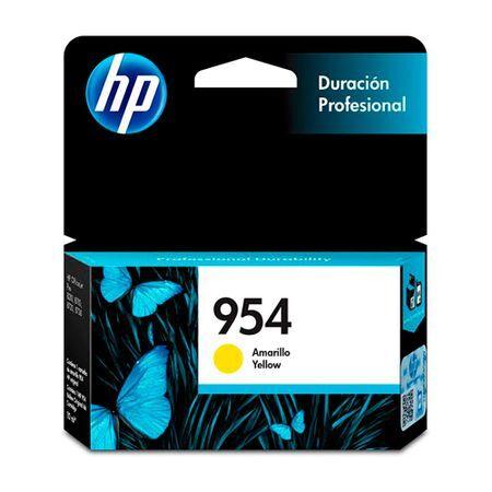 HP Cartucho HP Officejet pro 8730 8210 954 Yellow Original 10ml