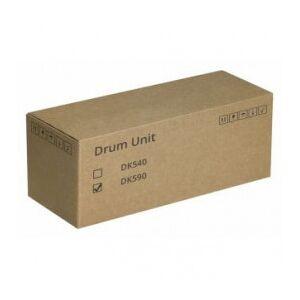 Kyocera DK-590 / 302KV93014 sort drum - Original