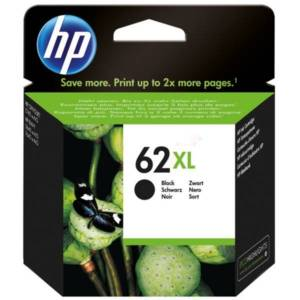 HP 62XL Mustepatruuna musta, 600 sivua C2P05AE Replace: C2P05AE