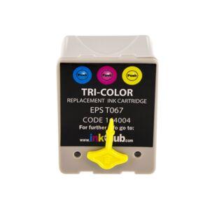 inkClub Mustepatruuna 3-väri, 18,6ml KED050 Replace: T067