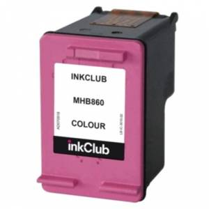 inkClub 302 -mustekasetti, kolmivärinen, 165 sivua MHB860 Replace: N/A