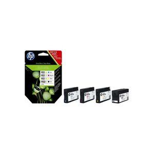 HP 950XL/951XL Combo Pack (C2P43AE) - Mustepatruuna Musta, Syaani, Magenta, Keltainen