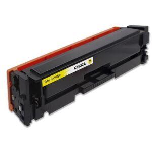 HP CF532A laadukas tarvikekasetti Premium HP 205A, Yellow, Takuu 3v.