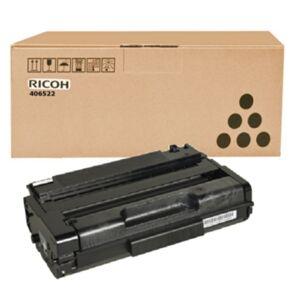 Ricoh Tonerkassett sort, 5.000 sider, høy kapasitet  406522 Replace: N/A