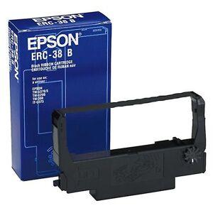 Epson Erc tape-38B Black TMU200 / U300 (kjøkkenapparater, elektronikk)