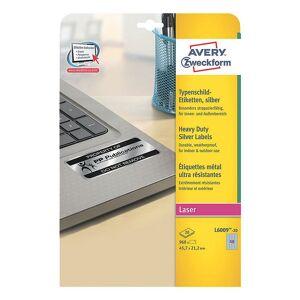 Avery Silver heavy duty 45,7x21,2