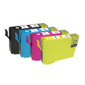Epson T1281 /T1282 /T1283 /T1284, Blekkpatron økonomipakke 5 stk kompatibel 69 ml