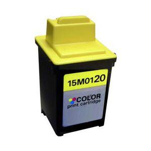 Lexmark 120 BK blekkpatron - 15M0120 Kompatibel - Svart 22 ml