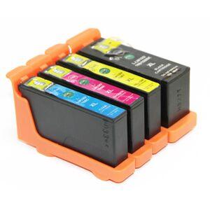 Lexmark 108XL blekkpatron combo pack 4 stk - kompatibel - BK/C/M/Y 56,5 ml