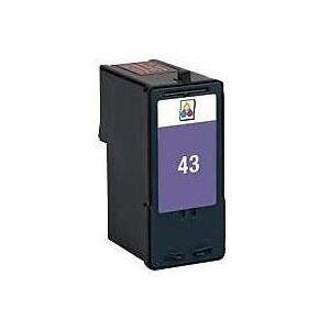 Lexmark 43 blekkpatron - 18Y0143 Kompatibel - 3-Farve 18 ml