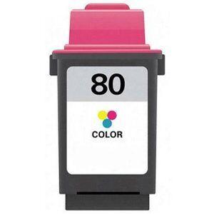 Lexmark 80 blekkpatron - 12A1980 Kompatibel - 3-Farve 22 ml