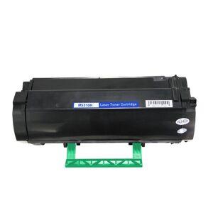 Lexmark MS310H BK Toner, svart, Kompatibel (5000 sider)