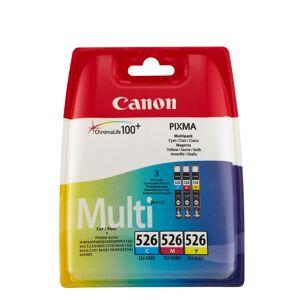 Canon CLI-526 blekkpatron combo pack 3 stk - 4541B009 Original - C/M/Y 27 ml