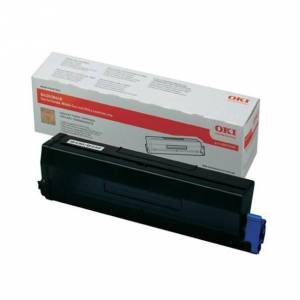 Oki B 430/440 BK lasertoner - 43979202 Original - Svart 7000 sider