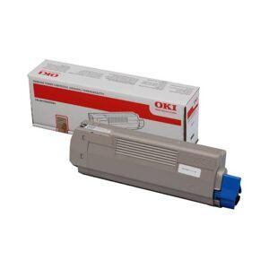Oki C 610 BK lasertoner - 44315308 Original - Svart 8000 sider