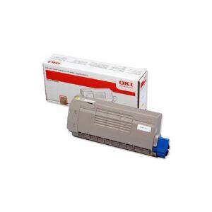 Oki C 710/711 Y lasertoner - 44318605 Original - Gul 11500 sider