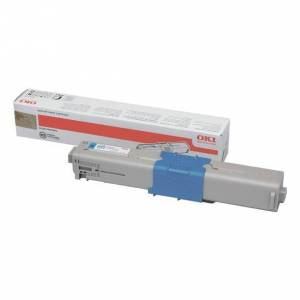 Oki C 510/530 C lasertoner - 44469724 Original - Cyan 5000 sider