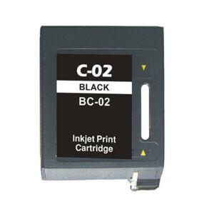 Canon BC-02 blekkpatron - kompatibel - Svart 25 ml