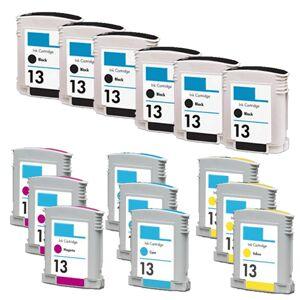 HP 13 blekkpatron økonomipakke 15 stk kompatibel 315 ml