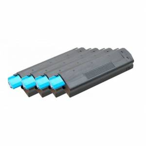 Oki C3200 combo pack 4 stk Lasertoner - kompatibel - BK/C/M/Y 12000 sider