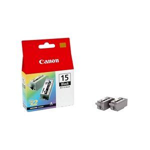 Canon BCI-15BK Black 2-p - 8190A002
