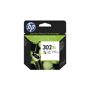 HP 302XL Tri-color - F6U67AE#UUS