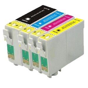 Epson Kompatibel Epson T1301/T1302/T1303/T1304 XXL combo pack 4 stk bläckpatron 86 ml