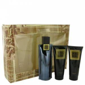 Bora Bora by Liz Claiborne - Gift Set -- 3.4 oz Cologne Spray + 3.4 oz Body Moisturizer + 3.4 oz  Hair & Body Wash - til mænd