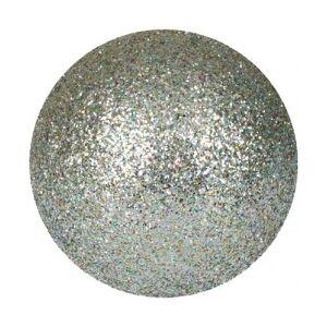 Europalms Deco Ball 3,5cm, silver, glitter 48x TILBUD NU sølv bold