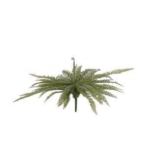 Europalms Boston fern, artificial plant, green, 70cm TILBUD bregner bregne grøn