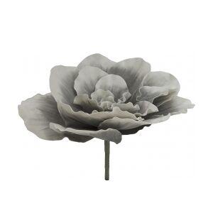 Europalms Giant Flower (EVA), artificial, stone grey, 80cm kæmpestor blomst grå