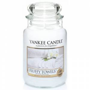 Classic Large Jar Fluffy Towels Candle 623 g Duftlys