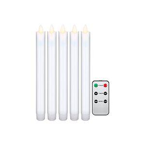LED julelys m/fjernbetjening (240x21mm) 5-Pack