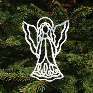 Laybourn-design Engel i hvid