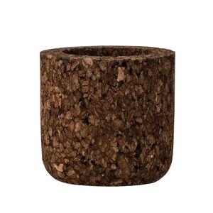 Bloomingville Kork lyslykt L, karbonisert kork