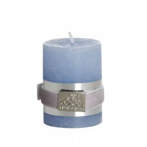 Lene Bjerre Candle Lys, Lys Blå, Small