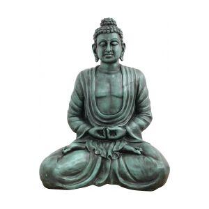 Antique Europalms Buddha, antique-black, 120cm TILBUD NU antikk svart palms euro