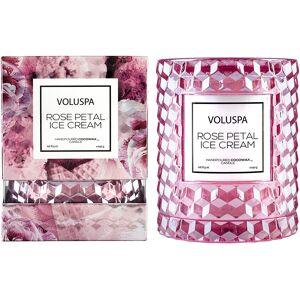 Voluspa Rose Petal Ice Cream, 240 g Voluspa Duftlys