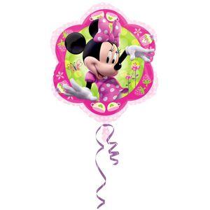 Amscan 18 tommers Disney Minnie Mouse blomst formet folie ballong Rosa/grønn One Size