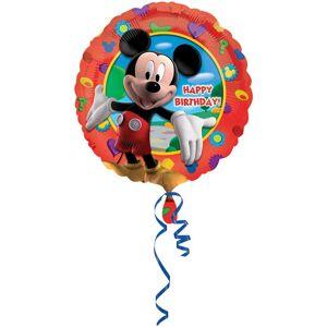 Amscan 18 tommers Disney Mikke Mus klubbhus sirkulær folie ballong Rød One Size
