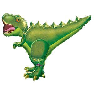 Amscan Supershape T-Rex ballong Grønn One Size