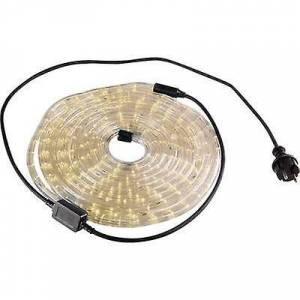 Basetech LED (monokrom) TLK-6MLWW fleksibelt lysrør 6 m varm hvit