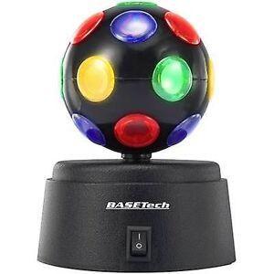 Basetech LED (monokrom) partiet lyseffekt multi-farge