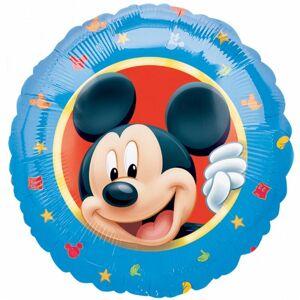 Amscan 18 tommers Disney Mikke Mus sirkulær folie ballong Blå One Size