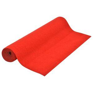 vidaXL Kunstgress med knotter 10x1 m rød
