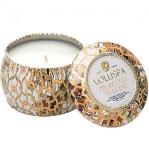 Voluspa Decorative Tin Candle Prosecco Bellini