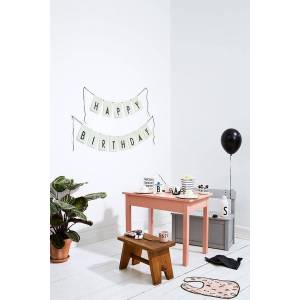 Design Letters Flaggrekke, Happy Birthday, Grnn