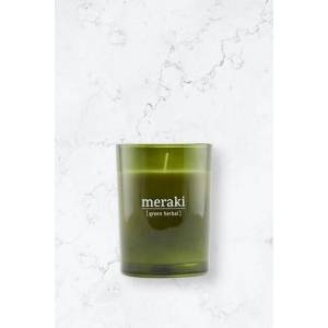 Meraki Doftljus Green Herbal Grön  Male Grön