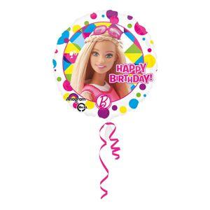 Amscan Folieballong Barbie Happy Birthday