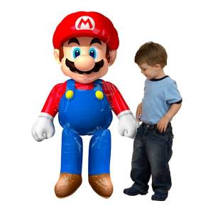 Amscan Folieballong Super Mario Airwalker